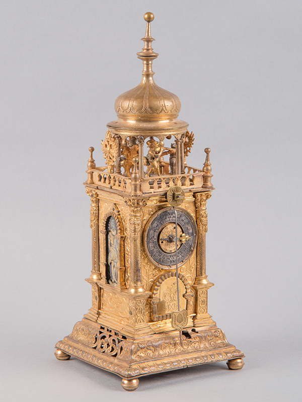 Renaissance table clock by Jakob Marckstein, c. 1580.