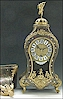 A small fine French Cartel clock signed G.I. Champion a Paris.
